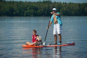 Серфинг с веслом